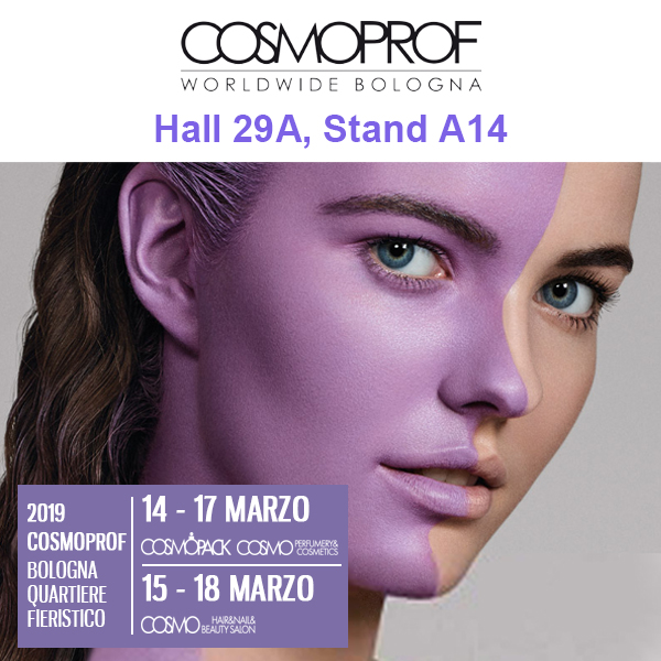 2019 Bologna Cosmoprof from Mar